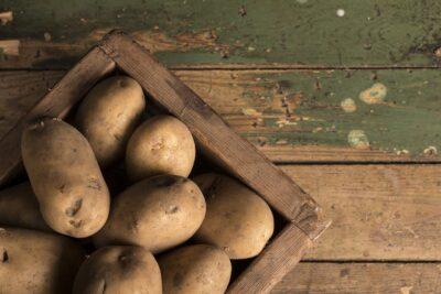 Aardappel schillen