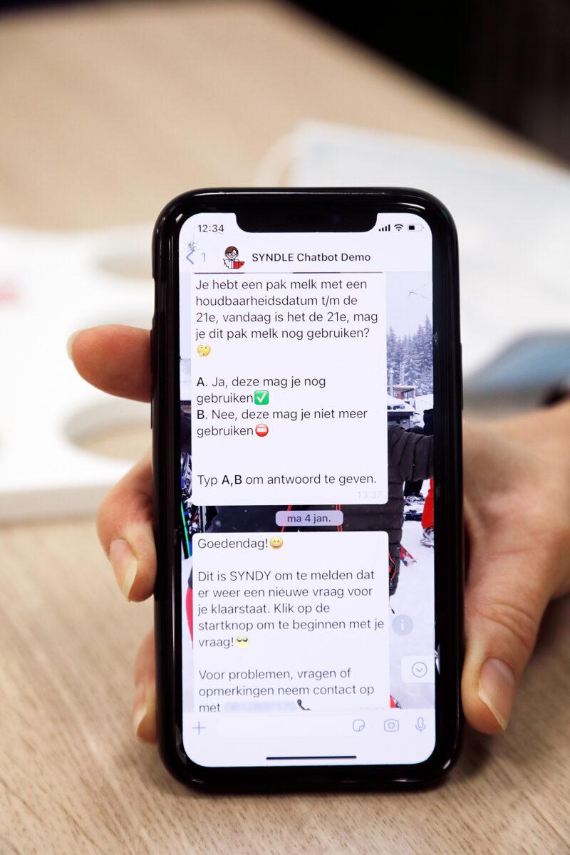 Vakinfo via mobiel